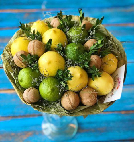 Букет «Лимонный фреш»