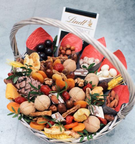Подарочный набор «Ореховый микс с манго»